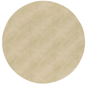 $14.50 Snakeskin Round Placemat Ivory