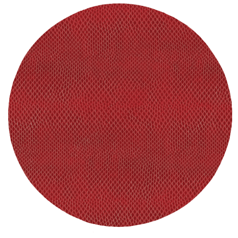 Snakeskin Round Placemat Crimson collection with 1 products
