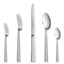 $218.00 Hudson 5 Piece Place Setting Stainless