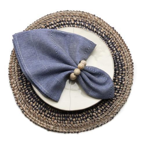$120.00 Kimono Navy Napkins - Set of 4