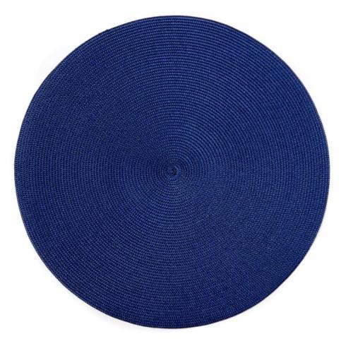 Oxford Blue Round Placemat collection with 1 products