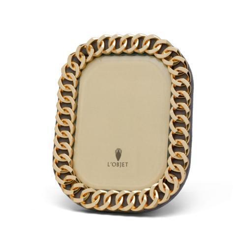 $210.00 Cuban Link Frame 5x7 Gold