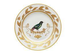 Ginori 1735   Voliere Dessert Plate $175.00