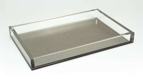 Acryllic Tray with Silver collection with 1 products