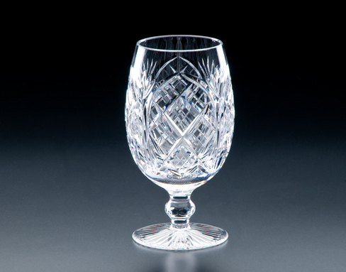 Heritage Irish Crystal   Cathedral Footed Iced Beverage $160.00