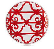 Hermés   Balcon du Guadalquivir Tart Platter $410.00