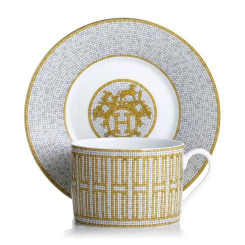 Hermés   Mosaique au 24 Gold Breakfast Cup & Saucer $305.00