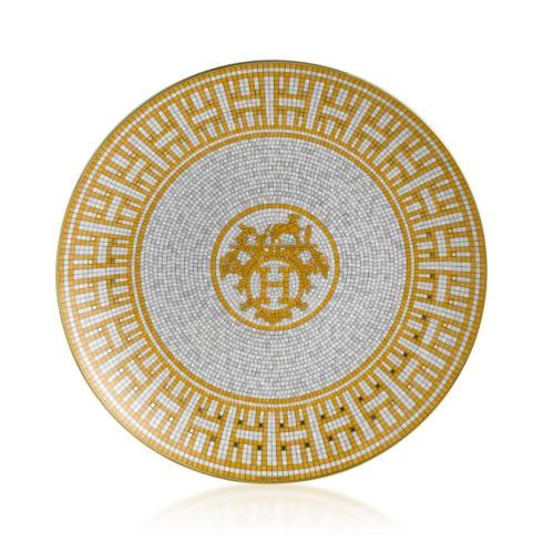 Hermés   Mosaique au 24 Gold Dessert Plate $180.00
