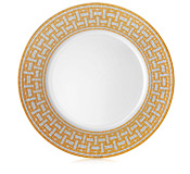Hermés   Mosaique au 24 Gold Dinner Plate $245.00