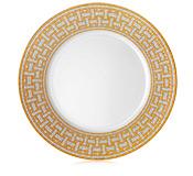 Hermés   Mosaique au 24 Gold Dinner Plate $250.00