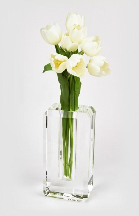 Crystal Glass Vase Hexagonal Edge Large collection with 1 products
