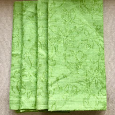 Floral Jacquard Grass Napkins - Set of 4 collection with 1 products