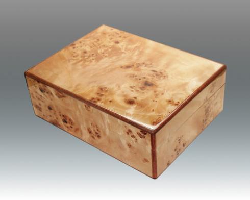 Tizo Designs   Burl Wood Box  $320.00