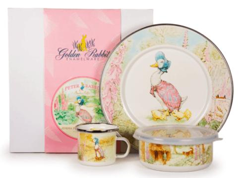 $56.25 Jemima Puddle-duck Childs Set 3 Piece