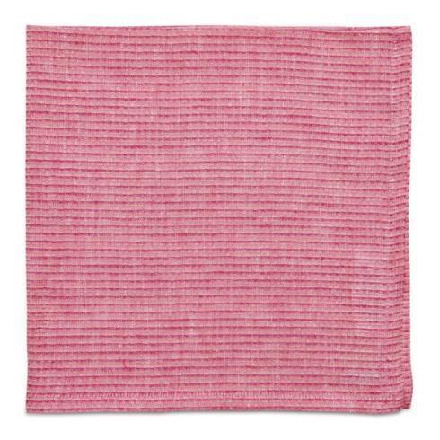 $112.00 Pink Jewel Pique Napkin Set/4
