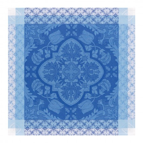 "Le Jacquard Francais   Azulejos China Blue Napkin set of 4 22""x 22""  $92.00"
