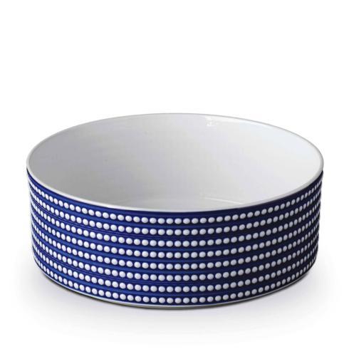 "$520.00 Perlee Blue Large deep 12"" Bowl"
