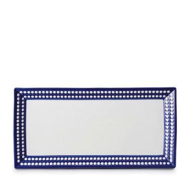 $344.00 Perlee Blue Rectangular Serving Platter