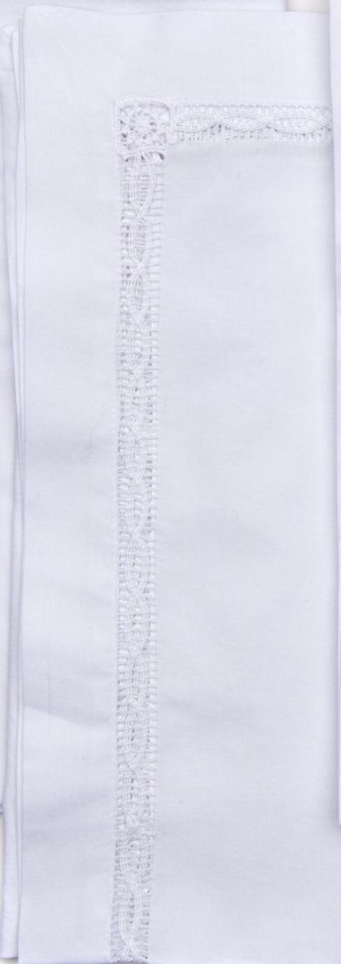 Deborah Rhodes   White Lace Insert Napkins - Set of 4 $144.00