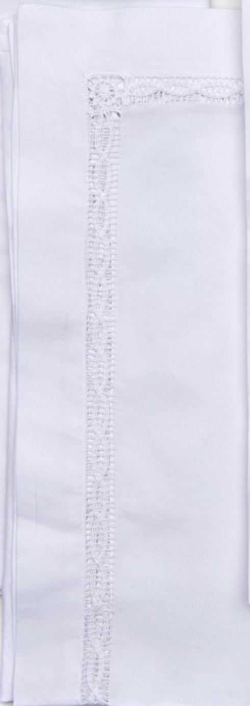 Deborah Rhodes   White Lace Insert Napkins - Set of 4 $144.00