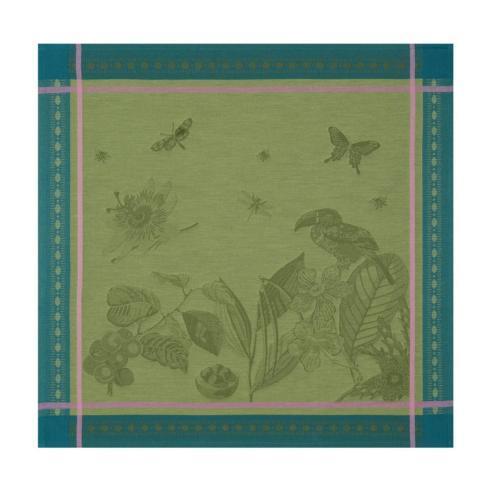 Le Jacquard Francais   Histoire Naturelle Moss Napkins - Set of 4 $90.00