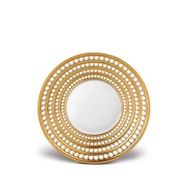 L'Objet   Perlee Gold Saucer $230.00