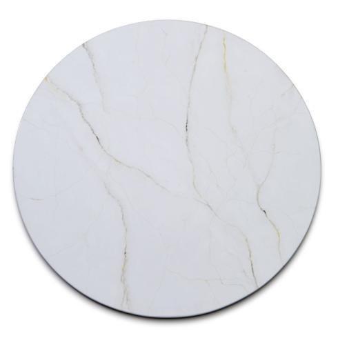 Deborah Rhodes   Marble Lacquer Place Mat - White $82.00