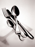 $44.30 Brescia 5 Piece Place Setting Stainless