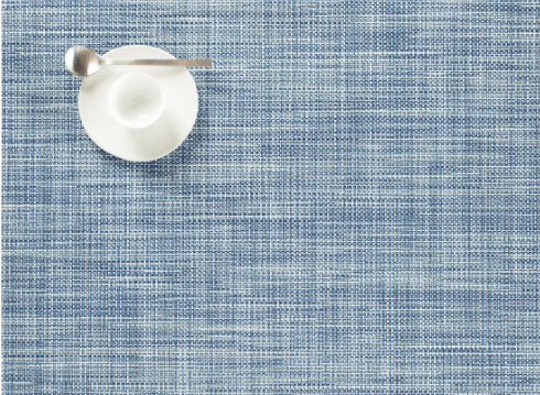Chilewich   Mini Basketweave Chambray Placemat $15.00