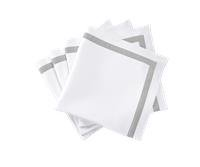 Matouk   Lowell Silver Napkins - Set of 4 $135.00
