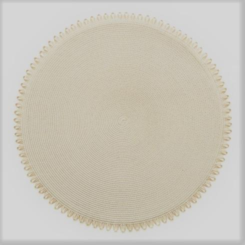 Natural Looped Edge Placemat collection with 1 products