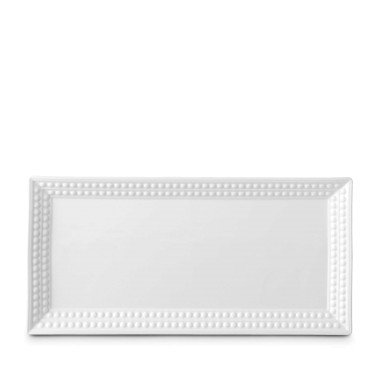 Perlee White Rectangular Platter collection with 1 products