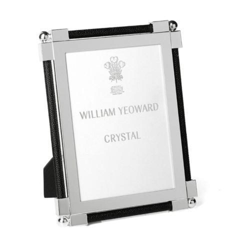 """William Yeoward   Classic Shagreen Black 5"""" x 7"""" $280.00"""