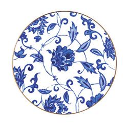Bernardaud   Prince Bleu Coupe Salad Plate $125.00