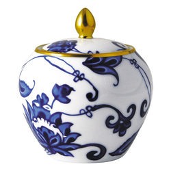 Prince Bleu Sugar Bowl (boule Shape) collection with 1 products