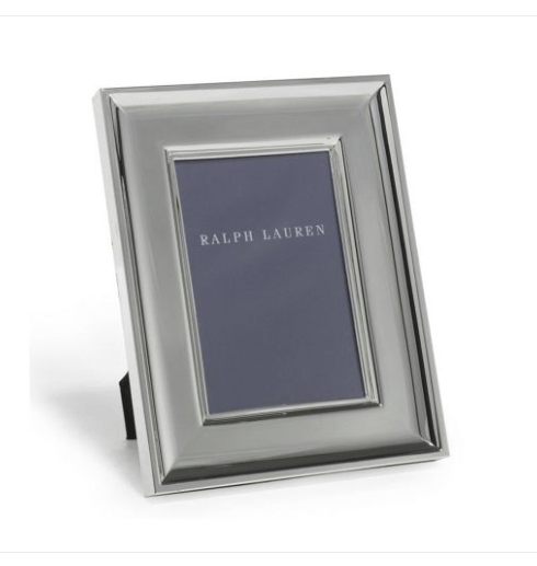 $95.00 Cove Silverplate Frame 5x7