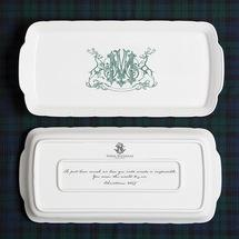 Sasha Nicholas   Holiday Rec. Tray w/Monogram $168.00