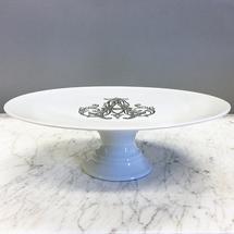 Sasha Nicholas   Cake Stand w/Monogram $185.00