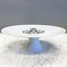 Cake Stand w/Monogram collection with 1 products