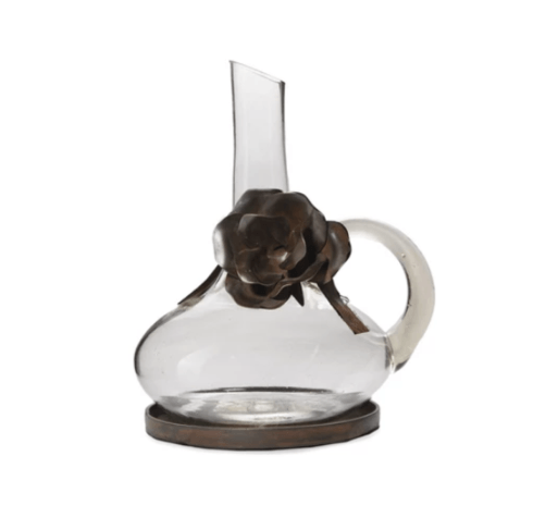 Jan Barboglio   Jarra Juana Carafe With Leather Cord & Coaster $315.00