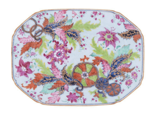 Tobacco Leaf Placemats - Set/4