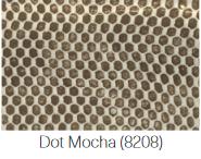$100.00 Small Rectangular stacking tray Mocha Dot