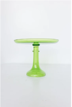 $225.00 Cake stand Forest Green