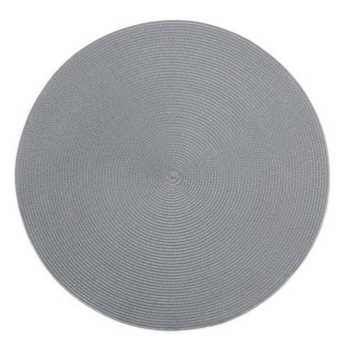 "$20.00 15"" Round Placemat Steel"