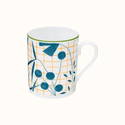 Hermés   A Walk In The Garden Mug - Blue $165.00