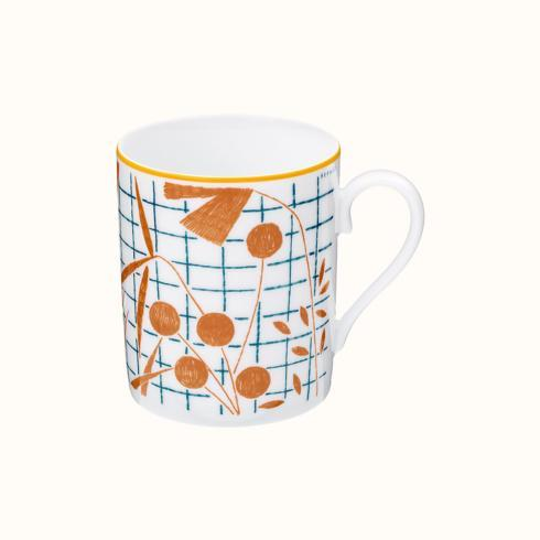 Hermés   A Walk In The Garden Mug - Orange $165.00