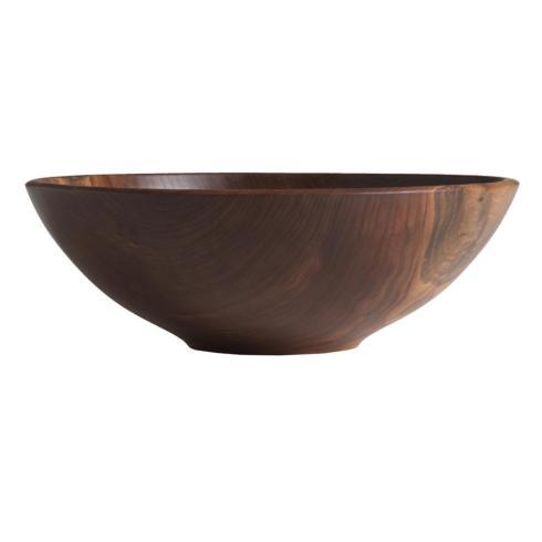 """$240.00 Champlain Bowl Black Walnut 12"""""""