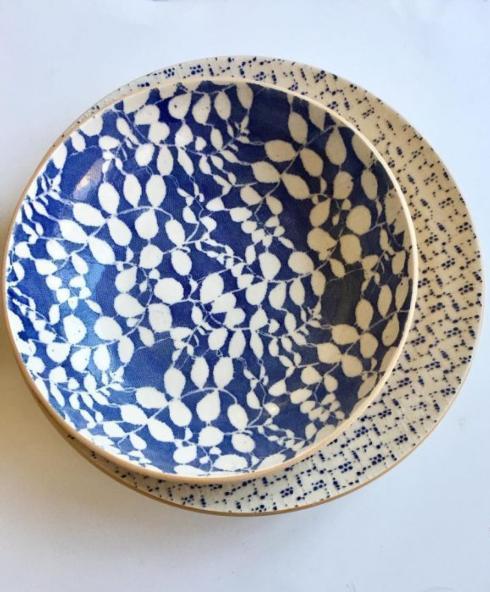 $143.00 Medium Serving Bowl, Aspen Cobalt