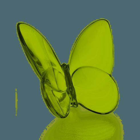 Baccarat   Butterfly Moss Green   $140.00