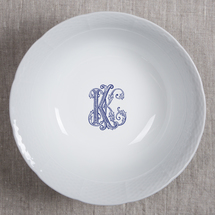 Weave Lg. Bowl w/Monogram collection with 1 products